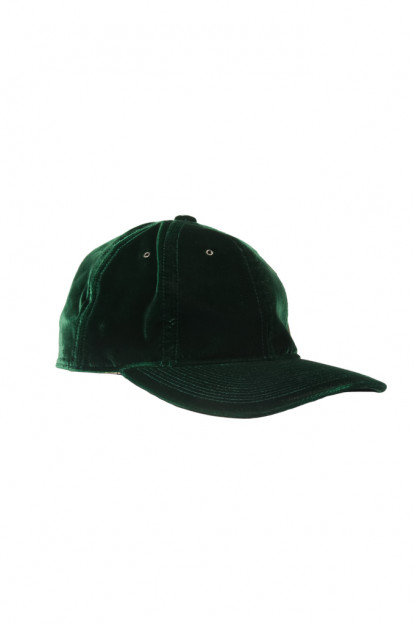 Poten Japanese Made Cap - Green Velvet