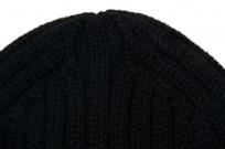 Merz B. Schwanen Alpaca/Merino Blend Beanie - Black - Image 3