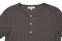 Merz B. Schwanen 2-Thread Heavy Weight T-Shirt - Henley Stone - Image 1