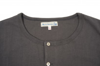 Merz B. Schwanen 2-Thread Heavy Weight T-Shirt - Henley Stone - Image 2