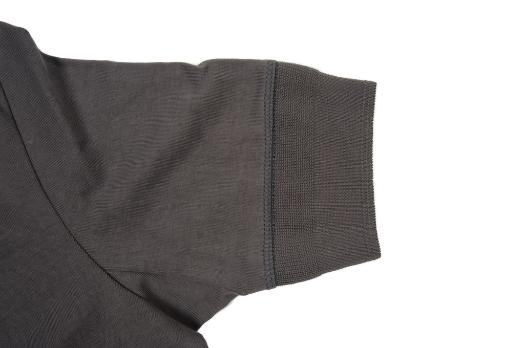 Merz B. Schwanen 2-Thread Heavy Weight T-Shirt - Henley Stone - Image 4