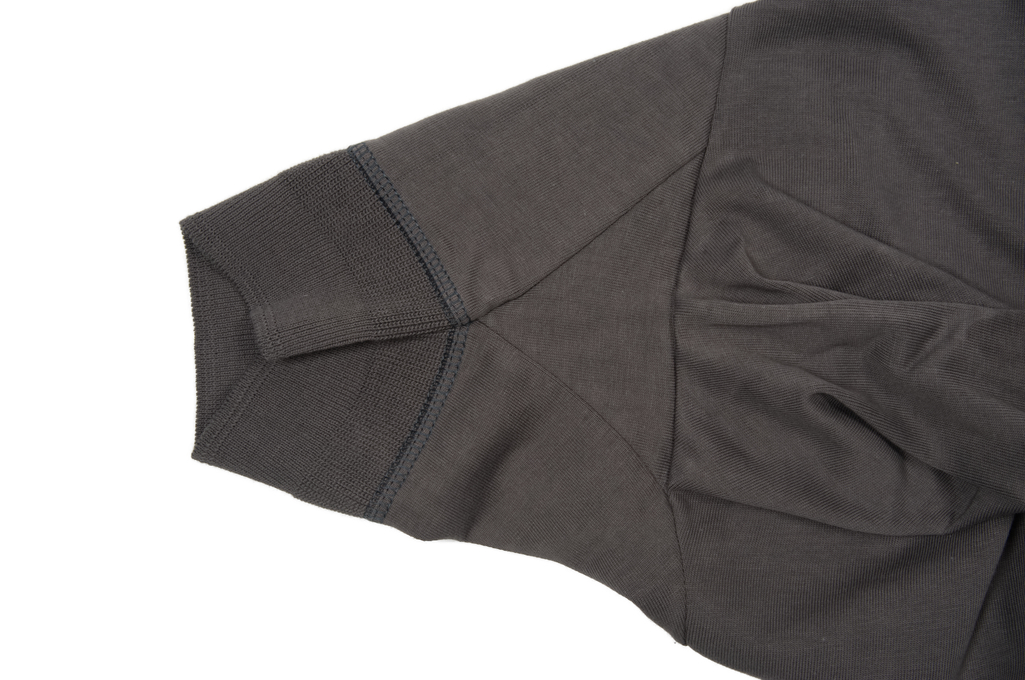 Merz B. Schwanen 2-Thread Heavy Weight T-Shirt - Henley Stone - Image 5