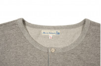 Merz B. Schwanen 2-Thread Heavy Weight Henley - Long Sleeve Henley Gray - Image 2