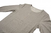 Merz B. Schwanen 2-Thread Heavy Weight Henley - Long Sleeve Henley Gray - Image 3