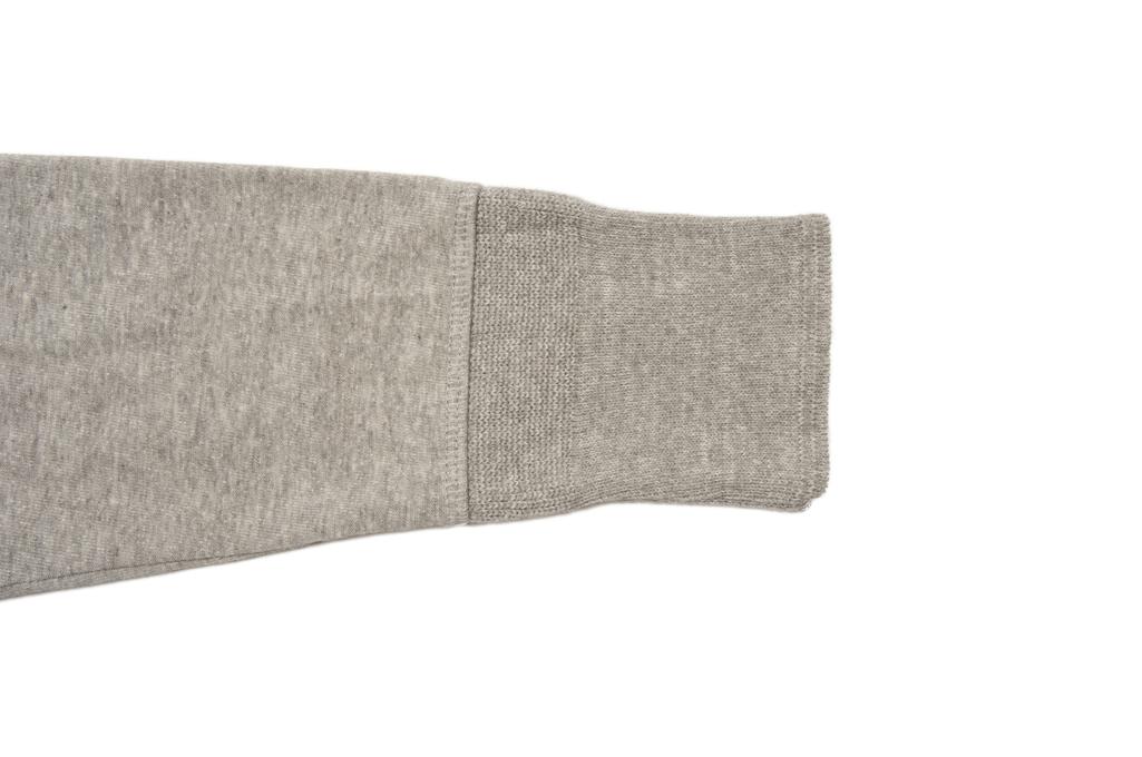 Merz B. Schwanen 2-Thread Heavy Weight Henley - Long Sleeve Henley Gray - Image 4