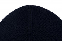 Merz B. Schwanen Merino Wool Beanie - Dark Navy - Image 3