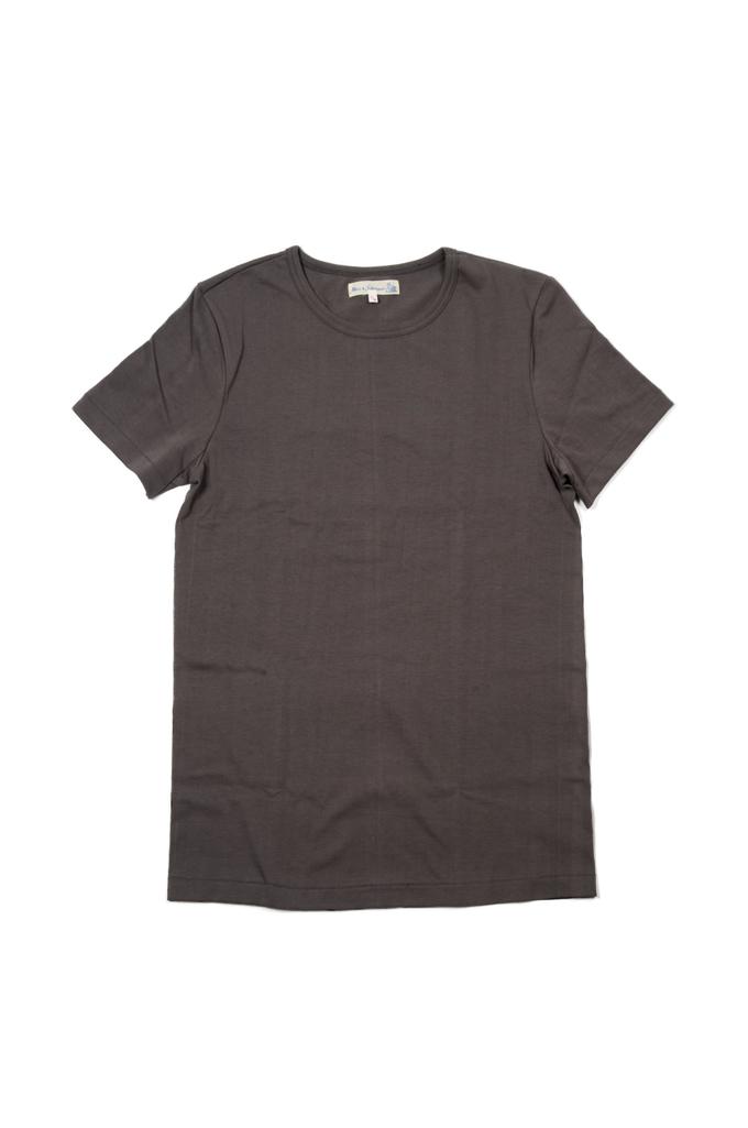 Merz B. Schwanen 2-Thread Heavy Weight T-Shirt - Stone T-Shirt - Image 0