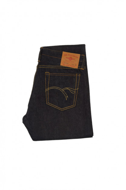 Flat Head D306 14.5oz Selvedge Denim Jeans - Straight Tapered