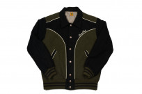 Human Made GFFT Chainstitch Embroidered Varsity Jacket - Image 2