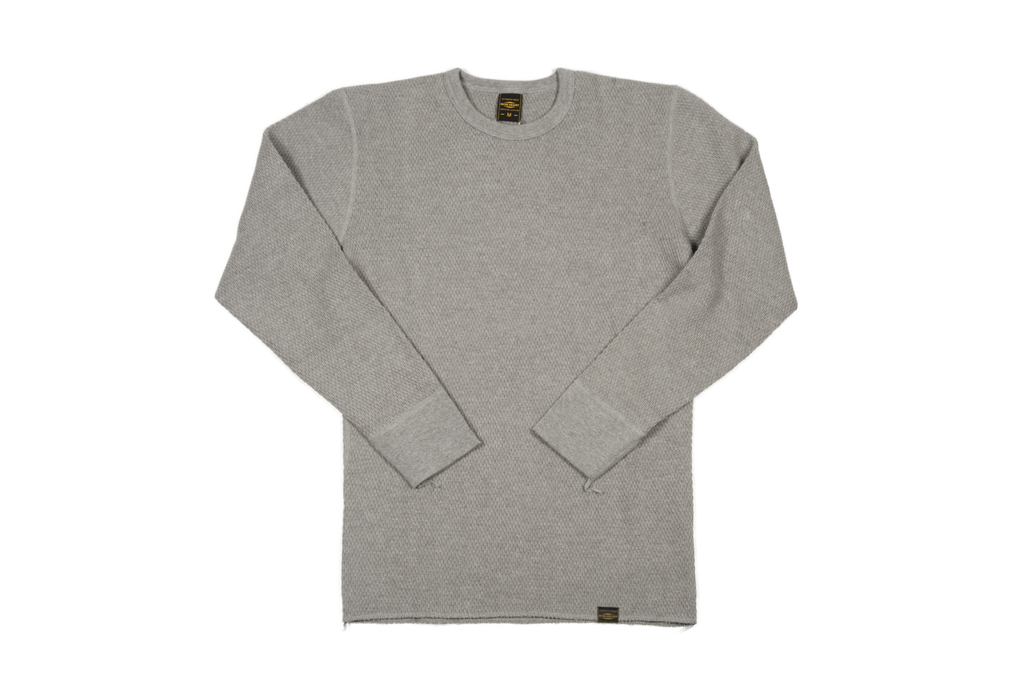 Iron Heart Extra Heavy Cotton Knit Thermal - Gray - Image 2