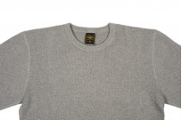 Iron Heart Extra Heavy Cotton Knit Thermal - Gray - Image 3