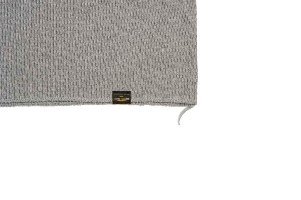 Iron Heart Extra Heavy Cotton Knit Thermal - Gray - Image 5