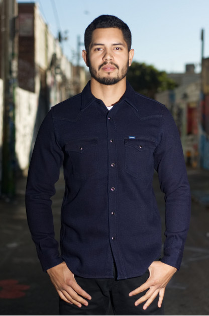 Iron Heart Indigo Kersey Shirt