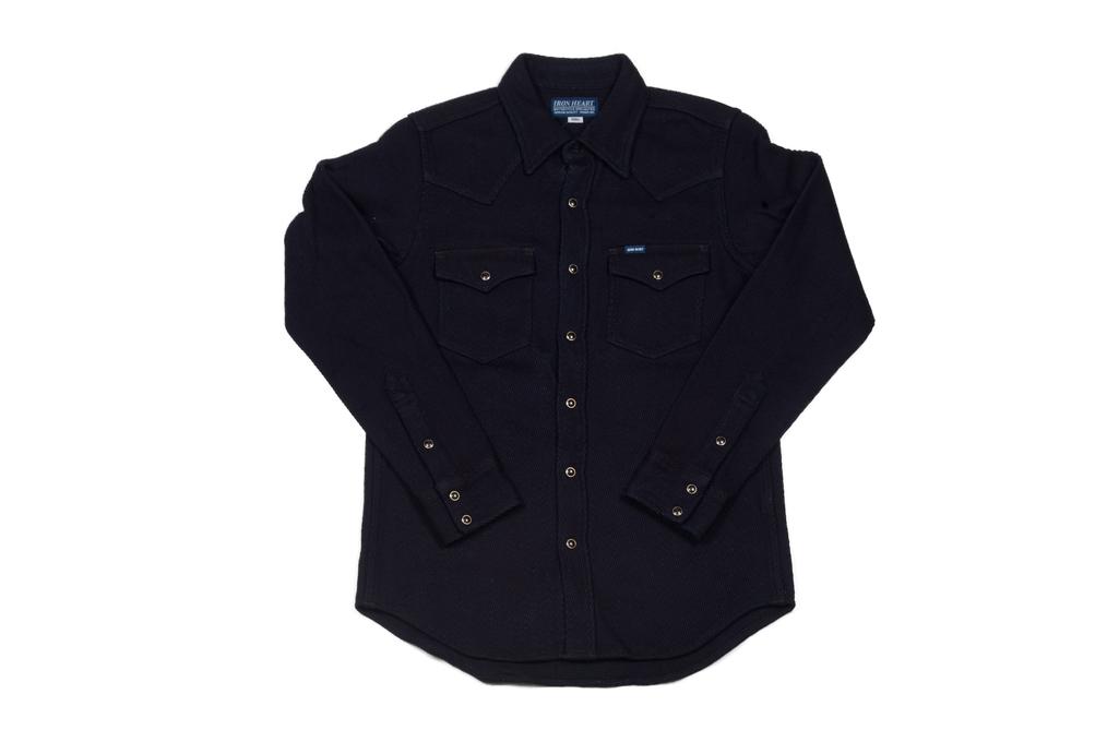 Iron Heart Indigo Kersey Shirt - Image 2