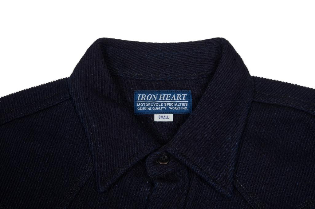 Iron Heart Indigo Kersey Shirt - Image 4