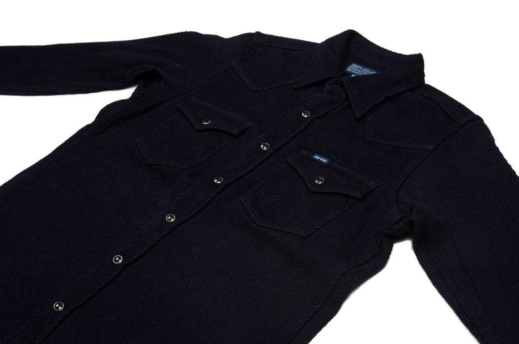 Iron Heart Indigo Kersey Shirt - Image 5