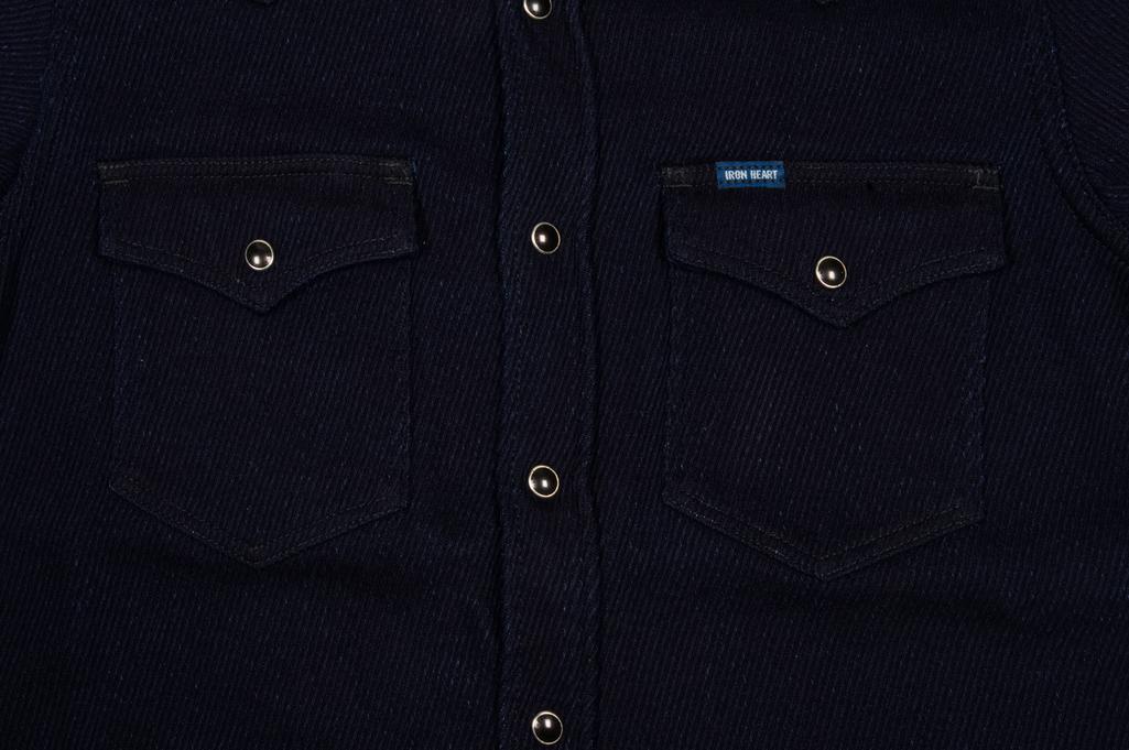 Iron Heart Indigo Kersey Shirt - Image 6