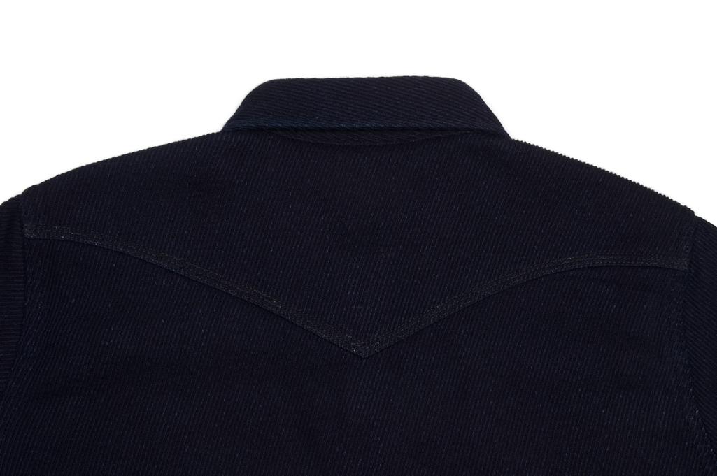 Iron Heart Indigo Kersey Shirt - Image 9