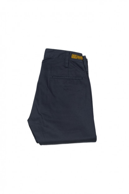 Iron Heart Selvedge Chinos IH-721 - Slim Cut Navy