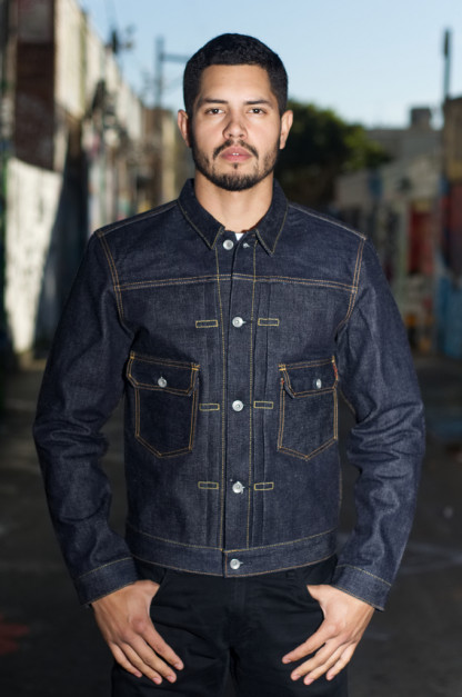 Iron Heart 18oz Raw Selvedge Type II Jacket