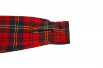 Sugar Cane Twill Check Winter Flannel - Red Check - Image 7