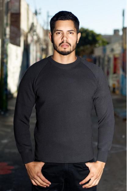 Stevenson Absolutely Amazing Merino Wool Thermal Shirt - Charcoal