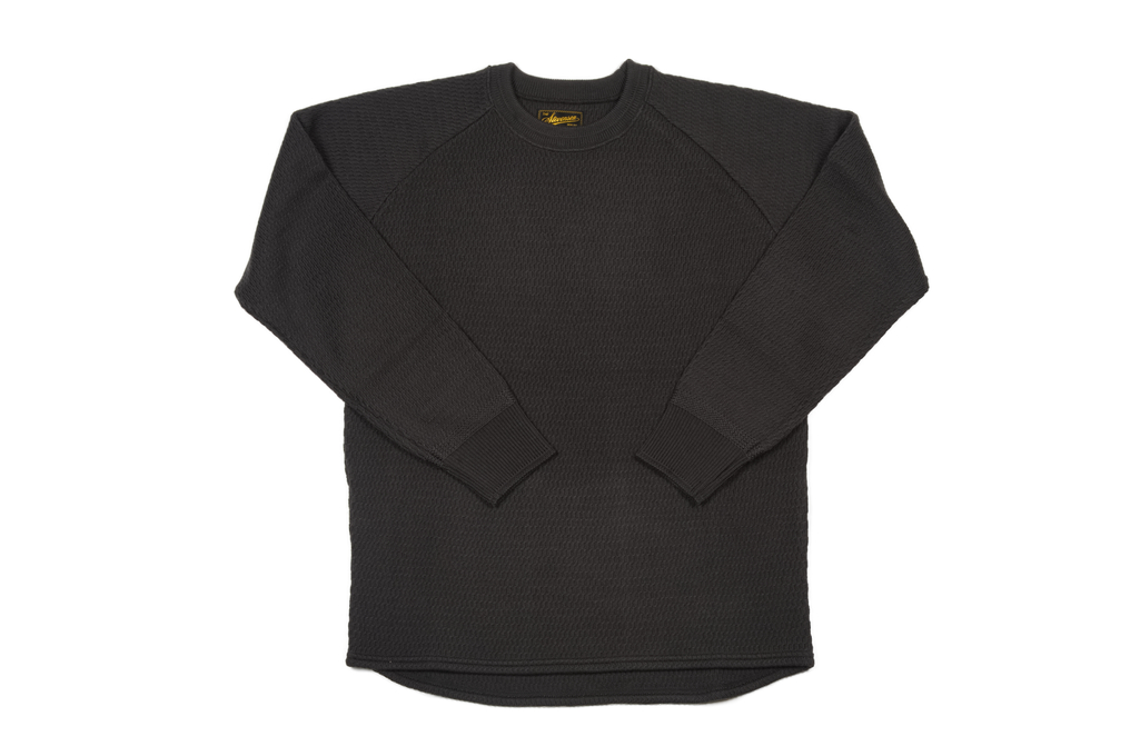 Stevenson Absolutely Amazing Merino Wool Thermal Shirt - Charcoal - Image 2