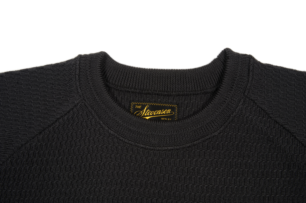 Stevenson Absolutely Amazing Merino Wool Thermal Shirt - Charcoal - Image 4
