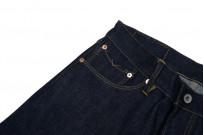 Stevenson 210 Big Sur Jeans - Slim Tapered Indigo - Image 4