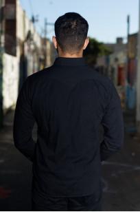 Stevenson Cody Snap Shirt - Black/Black Denim - Image 1