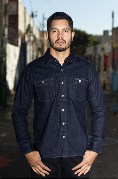 Iron Heart 12oz Selvedge Denim Workshirt