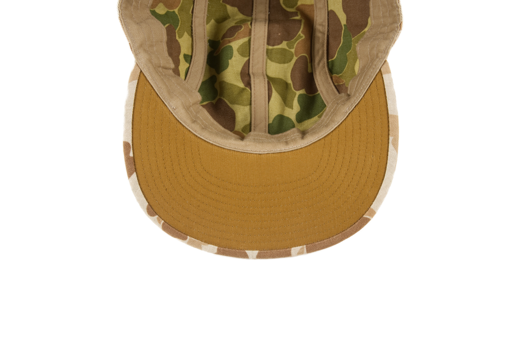 Papa Nui Okinawa Cap - Herringbone Cotton Twill - Image 4