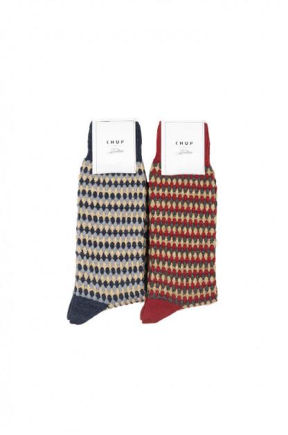CHUP for 3sixteen Pineapple Forest Socks