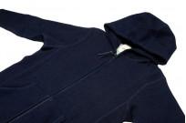 3sixteen Heavyweight Hoodie - Indigo Dyed Zip - Image 10