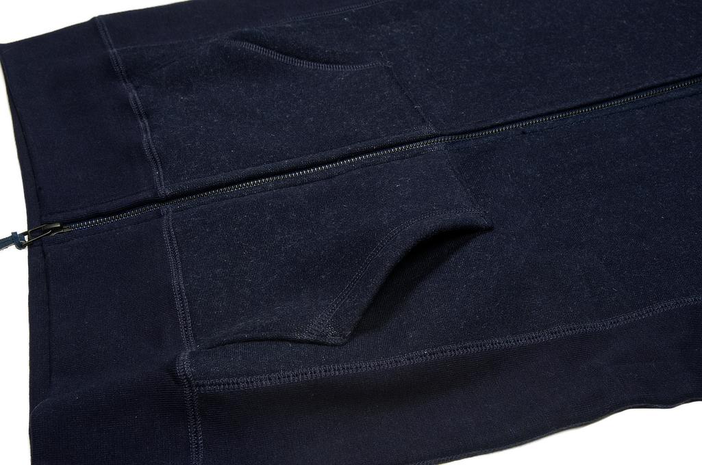 3sixteen Heavyweight Hoodie - Indigo Dyed Zip - Image 11