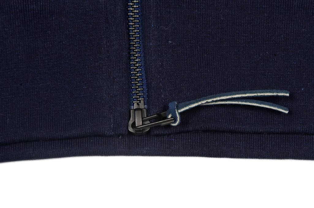 3sixteen Heavyweight Hoodie - Indigo Dyed Zip - Image 13