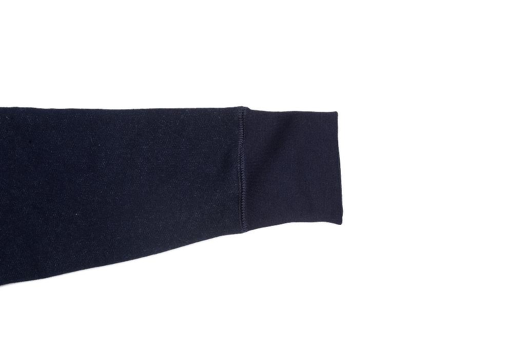3sixteen Heavyweight Hoodie - Indigo Dyed Zip - Image 14
