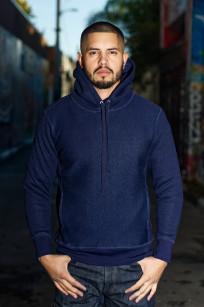 3sixteen Heavyweight Hoodie - Indigo-Dyed Pullover - Image 0