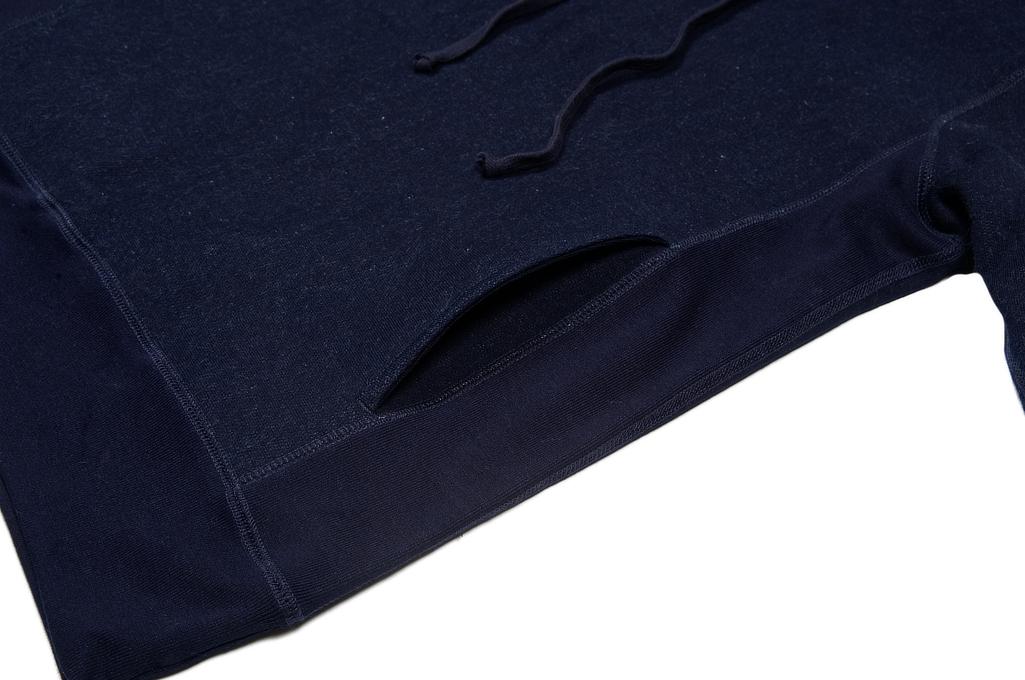 3sixteen Heavyweight Hoodie - Indigo-Dyed Pullover - Image 5