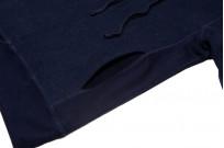 3sixteen Heavyweight Hoodie - Indigo-Dyed Pullover - Image 10