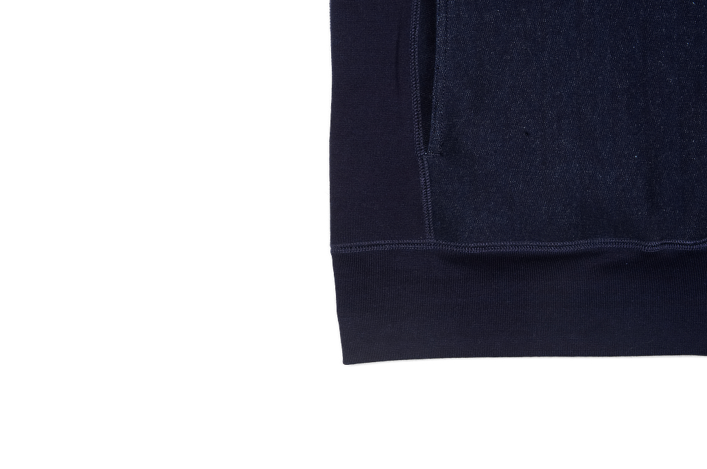 3sixteen Heavyweight Hoodie - Indigo-Dyed Pullover - Image 6