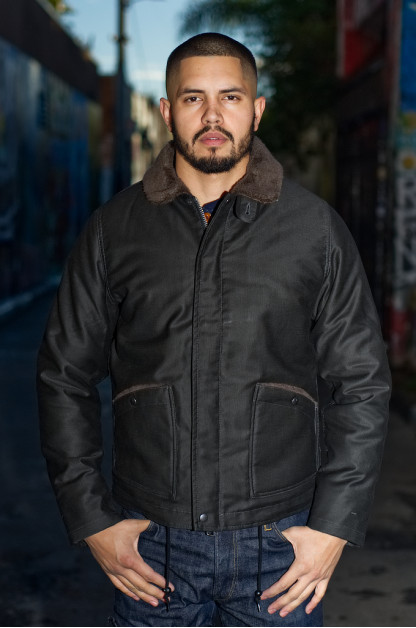 Iron Heart Whipcord B-2 Type Jacket - Black