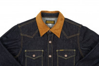 Iron Heart 14oz Selvedge CPO Shirt With Cord Collars - Image 3