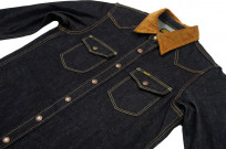 Iron Heart 14oz Selvedge CPO Shirt With Cord Collars - Image 7