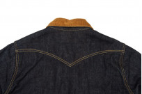 Iron Heart 14oz Selvedge CPO Shirt With Cord Collars - Image 9