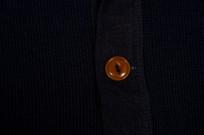 Mister Freedom G.I. Henley - Indigo Waffle Knit - Image 6