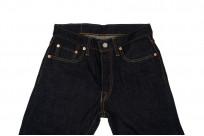 Pure Blue Japan 1143 12oz Summer Denim Jeans - Straight Tapered Indigo - Image 3