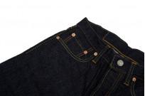Pure Blue Japan 1143 12oz Summer Denim Jeans - Straight Tapered Indigo - Image 4