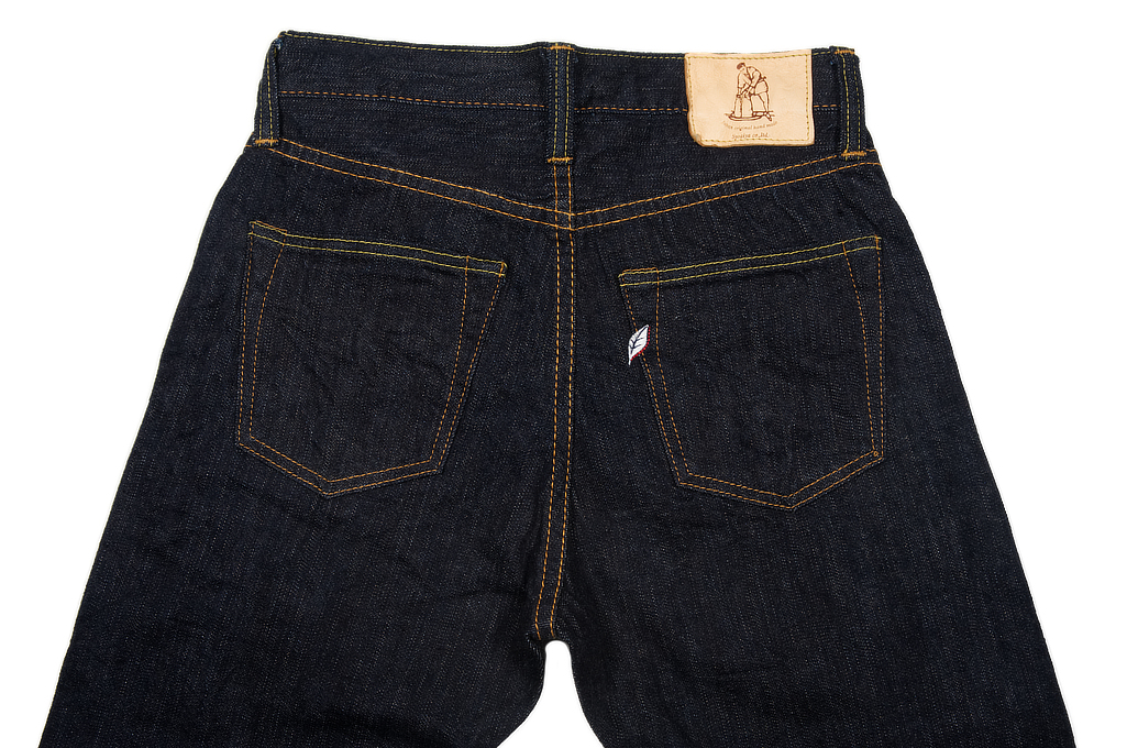 Pure Blue Japan 12oz Summer Denim Jeans - Straight Tapered - Image 5