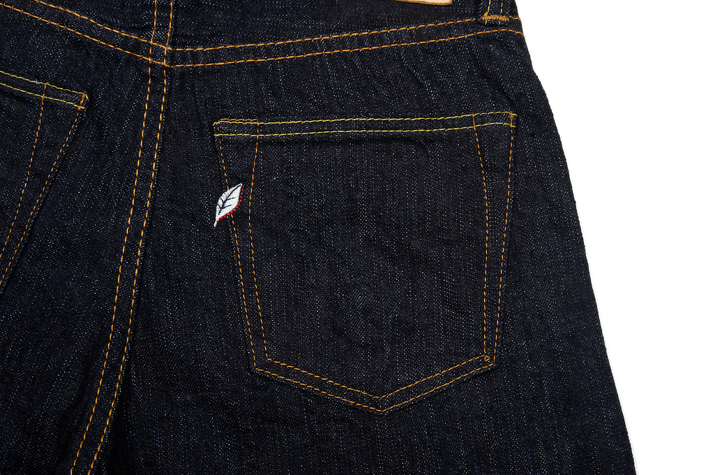 Pure Blue Japan 12oz Summer Denim Jeans - Straight Tapered - Image 6